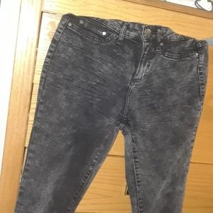 A brand new pair of acidwashed faded glory jeans